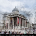 IMPRESSION OF THE NATIONAL GALLERY by Peter Stevens, Harpenden