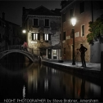 NIGHT PHOTOGRAPHER by Steve Brabner, Amersham