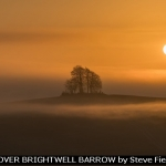 SUNRISE OVER BRIGHTWELL BARROW by Steve Field, Oxford