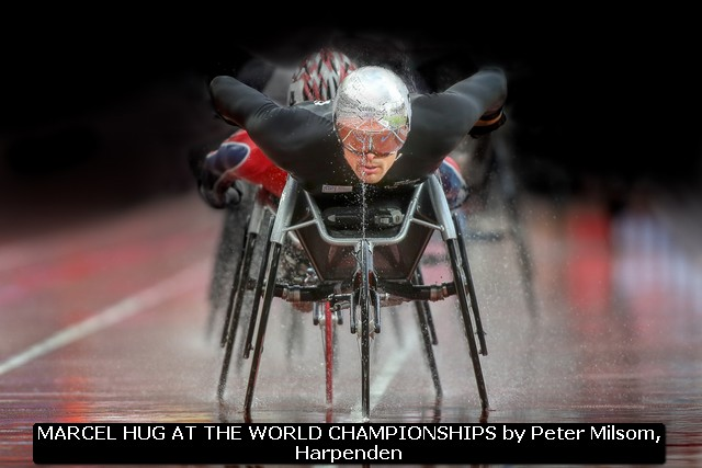 MARCEL HUG AT THE WORLD CHAMPIONSHIPS by Peter Milsom, Harpenden