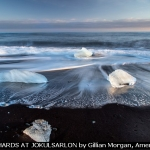 ICE SHARDS AT JOKULSARLON by Gillian Morgan, Amersham