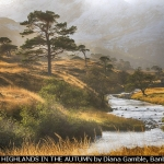 THE HIGHLANDS IN THE AUTUMN by Diana Gamble, Banbury