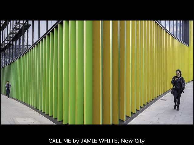 Call Me by Jamie White, New City