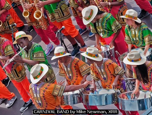 CARNIVAL BAND by Mike Newman, XRR