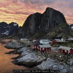LOFOTEN SUNSET by Simon Raynor, New City
