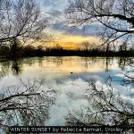 WINTER SUNSET by Rebecca Berman, Croxley