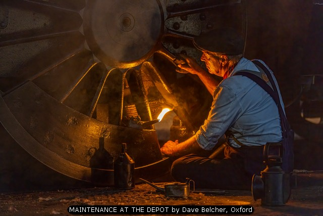 MAINTENANCE AT THE DEPOT by Dave Belcher, Oxford