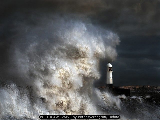 PORTHCAWL WAVE by Peter Warrington, Oxford